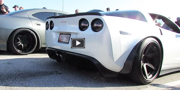 YOU Have Been WARNED! INSANELY LOUD and GORGEOUS – Supercharged 800(960)HP Z06 Corvette!