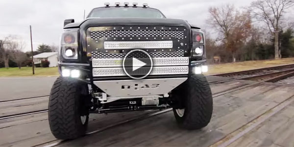 WOW! What a Monster (Lifted Ford Powerstroke)! Prepare Yourself for