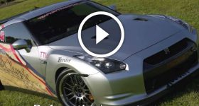 Nissan GT-R HEAVILY SMASHED