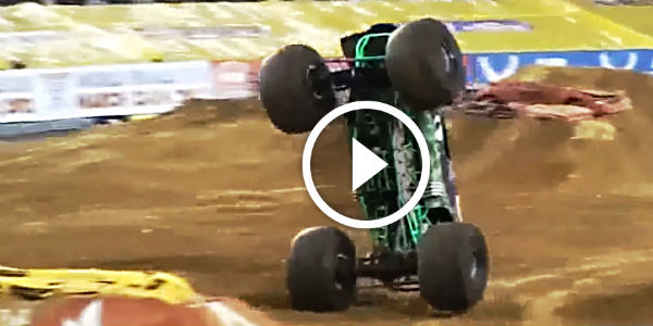 omg   insane  ultimate moments monster truck grave digger  car  fun muscle