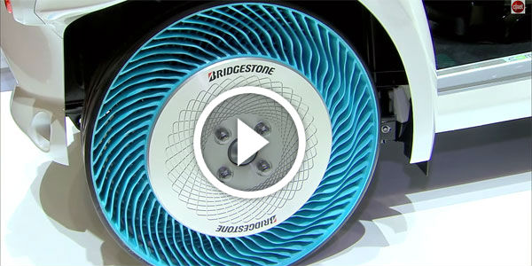 REVOLUTIONARY AIRLESS TIRES! Is This The END OF ALL ...