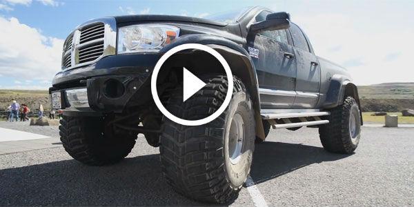 Colossal Dodge Ram 2500 Heavy Duty Roams Island During The
