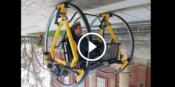 Get Ready For EDWARD!!! FUTURISTIC ELECTRIC Dicycle BETTER THAN Star Wars spacecraft!