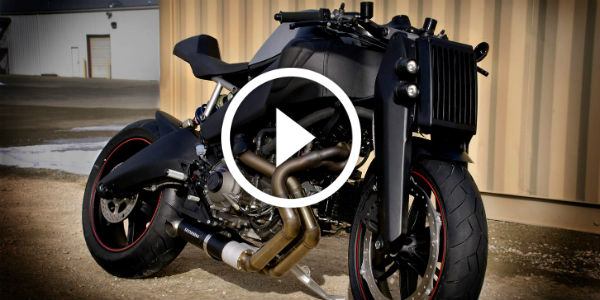 Japanese Mastery Created A Samurai Motorcycle! Witness The Magpul Ronin 1125R 2013!!!