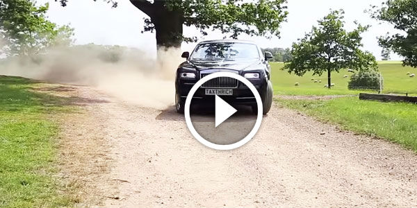 "ULTIMATE ""LIKE A BOSS"" Driving STYLE! Rolls-Royce Wraith Driven Like a MAD MAX in his MANSION!"