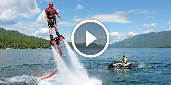 COULDN'T GET ANY BETTER Than This!  Franky Zapata's Flyboard ENABLES You to FLY and DIVE!