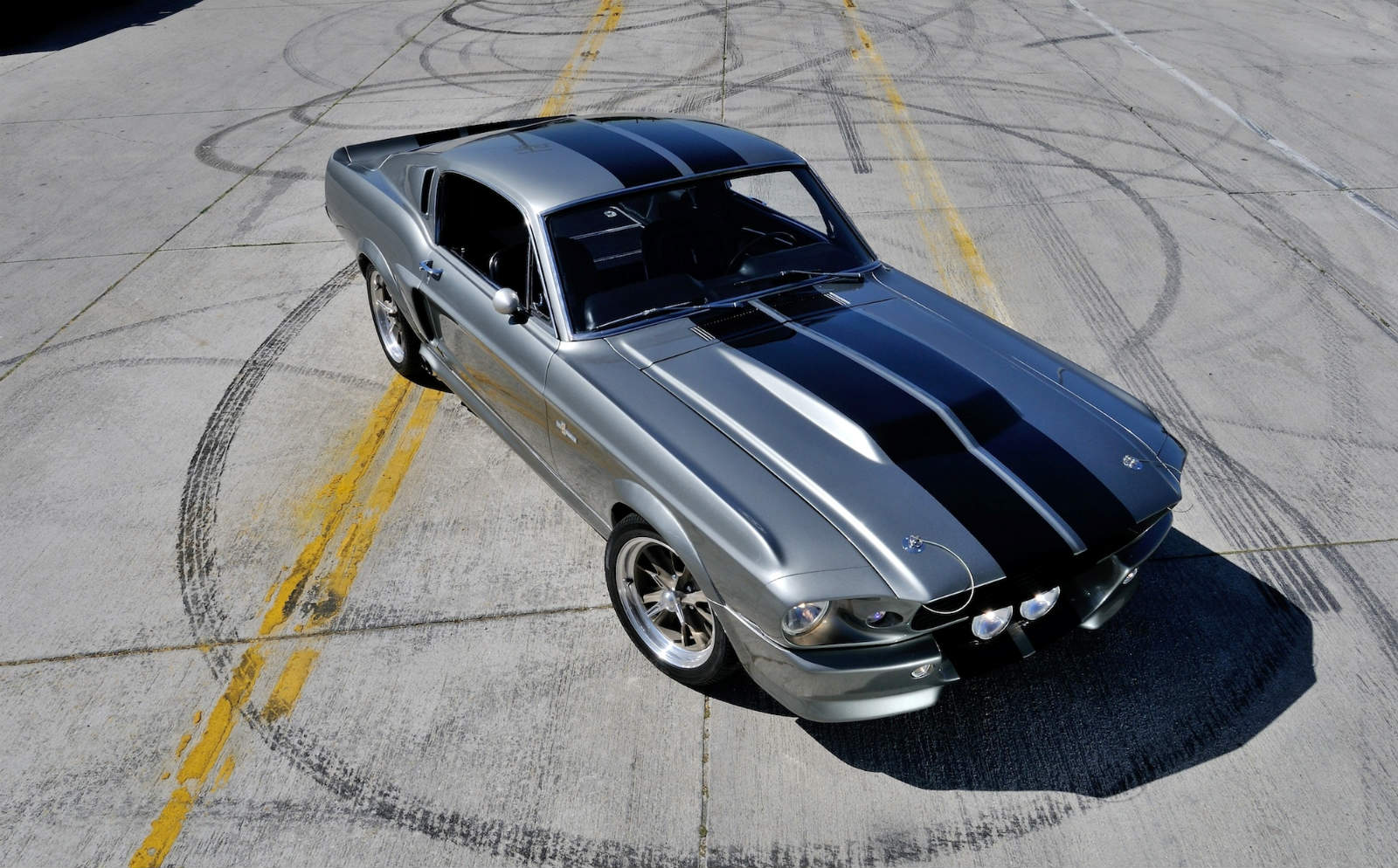 ford mustang top view. ford-mustang 1967 gt500-eleanor top view ford mustang n