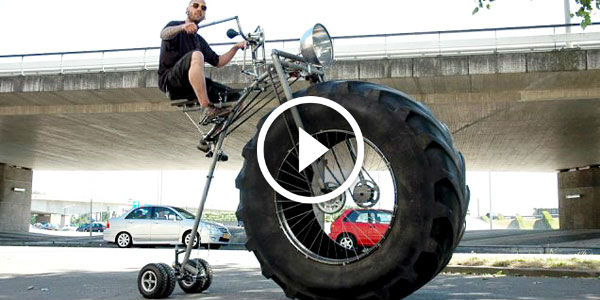 2015 Dodge Magnum >> 8M Views - PRESENTING YOU The World's First Monster Bicycle!!! - NO Car NO Fun! Muscle Cars and ...