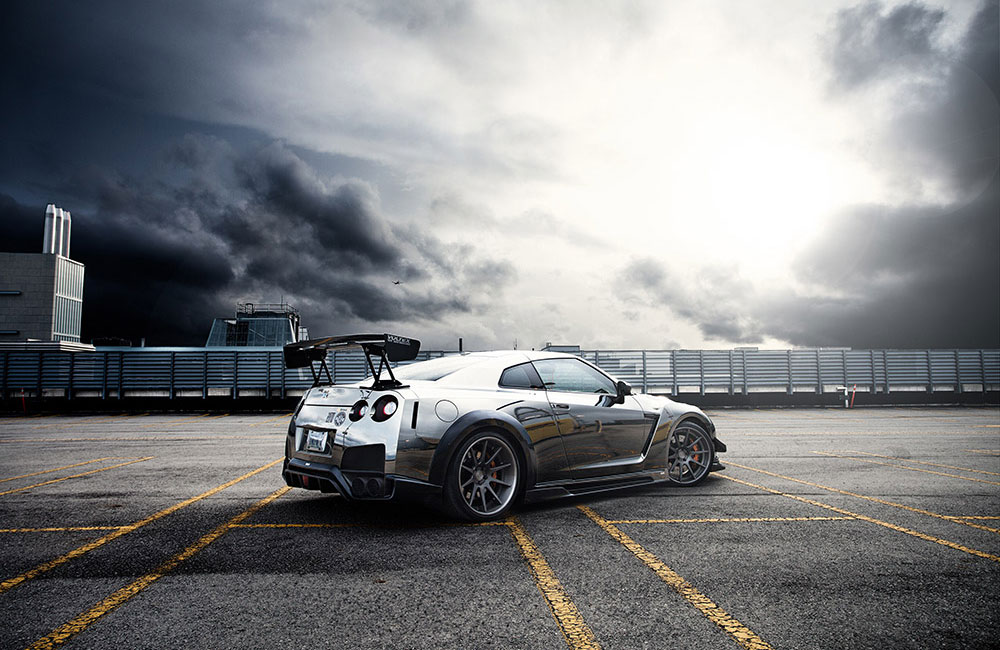 Chrome Nissan GT-R 3 - NO Car NO Fun! Muscle Cars and ...