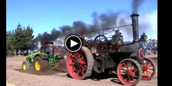 DIESEL Drag Tractor Vs Steam