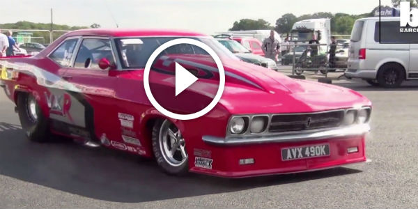British Speed Enthusiast Transforms An Old Tin Into The World's Fastest Road Legal Car! Meet Red Victor 3!!!