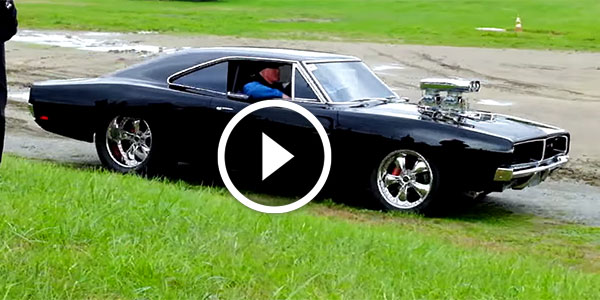 Cruel 69 Dodge Super Charger On A Show After Having A