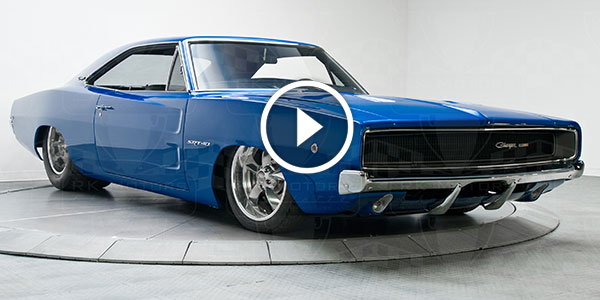 Are You Ready For This Fully Restored Slammed 1968 Dodge