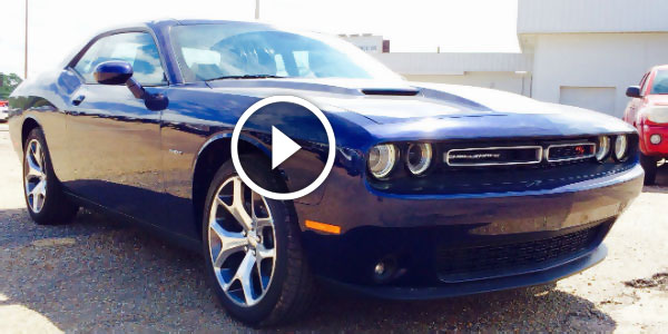 AMAZINGLY GORGEOUS 2015 Dodge Challenger R/T Plus In Jazz Blue Pearl Coat Exterior! Exhaust System And Start Up Included!