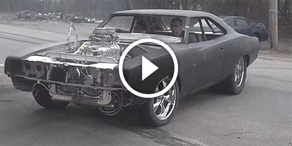 Hp Blown Hemi Dodge Charger on Dodge Magnum Rims