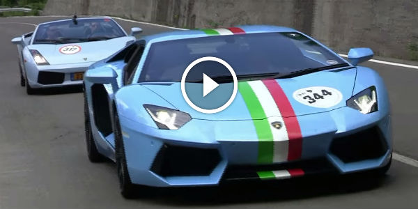 The Ultimate Sounds Of Lamborghini Aventador One Of The