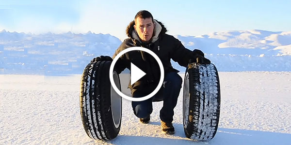 The Ultimate Winter Tire Test – THIS WILL SAVE YOUR LIFE SOMEDAY!