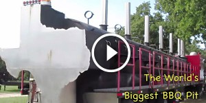 The World's Largest BBQ Pit - Texas-Sized