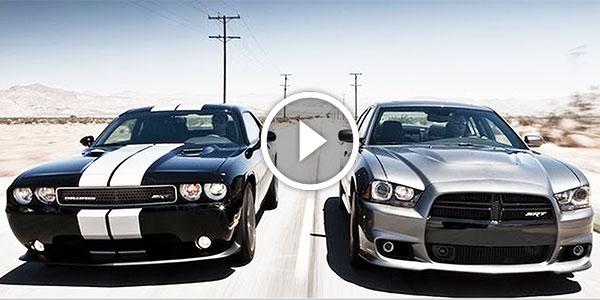 THIS IS HUGE: 2012 Dodge Charger SRT8 vs 2011 Dodge Challenger SRT8 392!