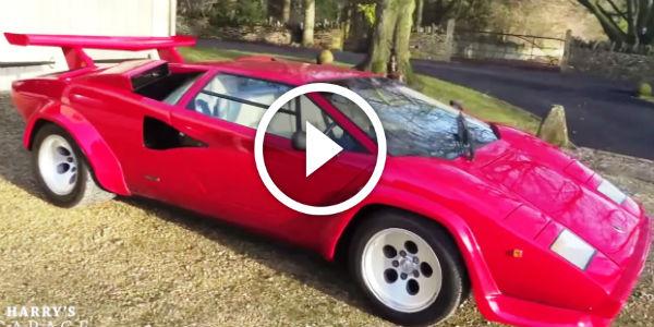30 Minutes Video Review Of 1987 Lamborghini Countach 5000
