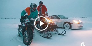 Streetbike Rallycar and Snowmobile ON ICE