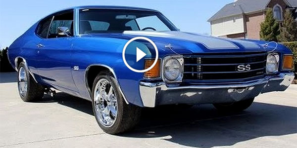 Flawless blue 1972 chevrolet chevelle ss for sale at for Vanguard motors for sale