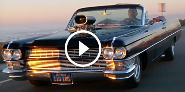 1964 Cadillac Big Black & Blown - BIG MUSCLE