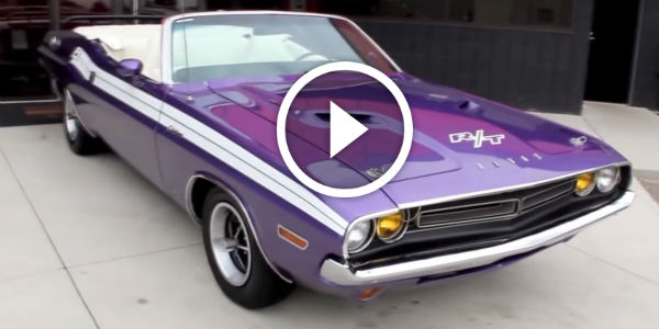 gorgeous muscle 1971 dodge challenger convertible is now for sale at vanguard motor sales are. Black Bedroom Furniture Sets. Home Design Ideas
