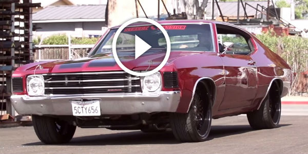 3 Custom Chevrolet Old Schools by California Wheels