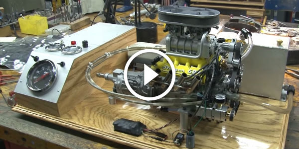 Incredible V8 Engine: ¼ Scaled And Still Sings Mighty ...