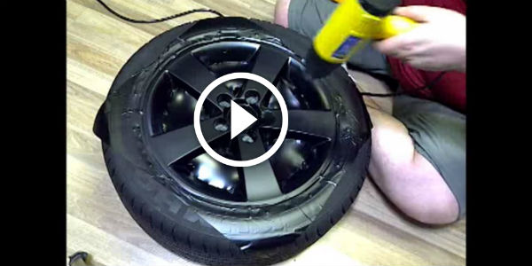 2015 Dodge Magnum >> HOW TO TUTORIAL! Refresh Your Car For Only $10 - Wrap Your RIMS With VINYL! - NO Car NO Fun ...