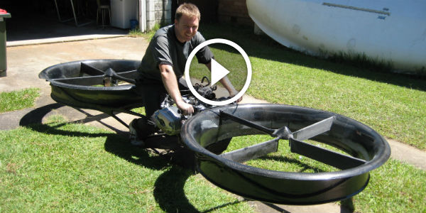 The WORLD'S FIRST HOVERBIKE! – A REVOLUTIONARY Combination Of The Freedom Of The Helicopter With The Simplicity Of The Motorbike!