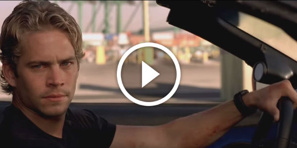 CAN'T GET ANY BETTER THAN THIS: Terrific Tribute Video For Paul Walker And Fast And The Furious!