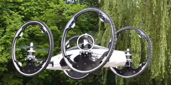 Behold B – The Flying Car! New Drone Technology Might Be The Next Breakthrough In What The World Needs Today!