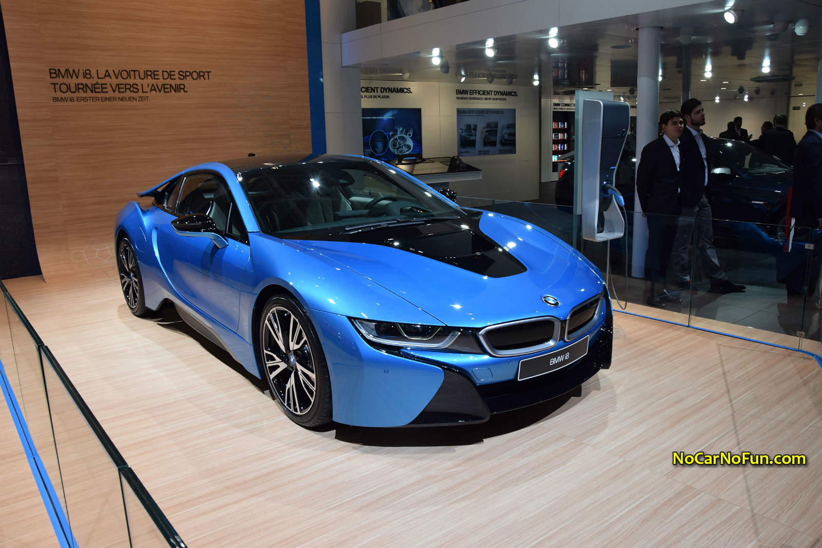 2015 BMW I8 Sports Car 01 Geneva Motor Show Front Three Quarters