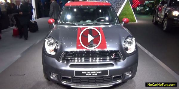 Urban City Boy 2015 Mini Countryman Park Lane Attracting