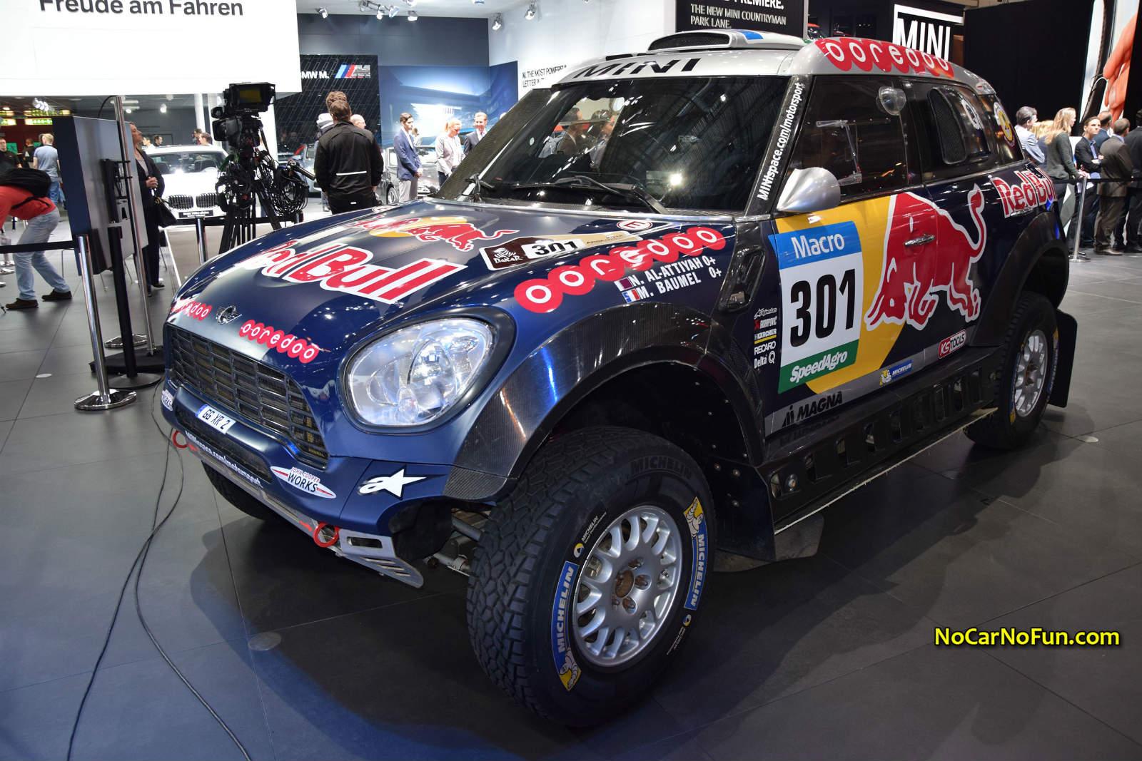 2015-MINI-Rally-Car-Dakar-Rally-02-2015-Geneva-Motor-Show - front ...