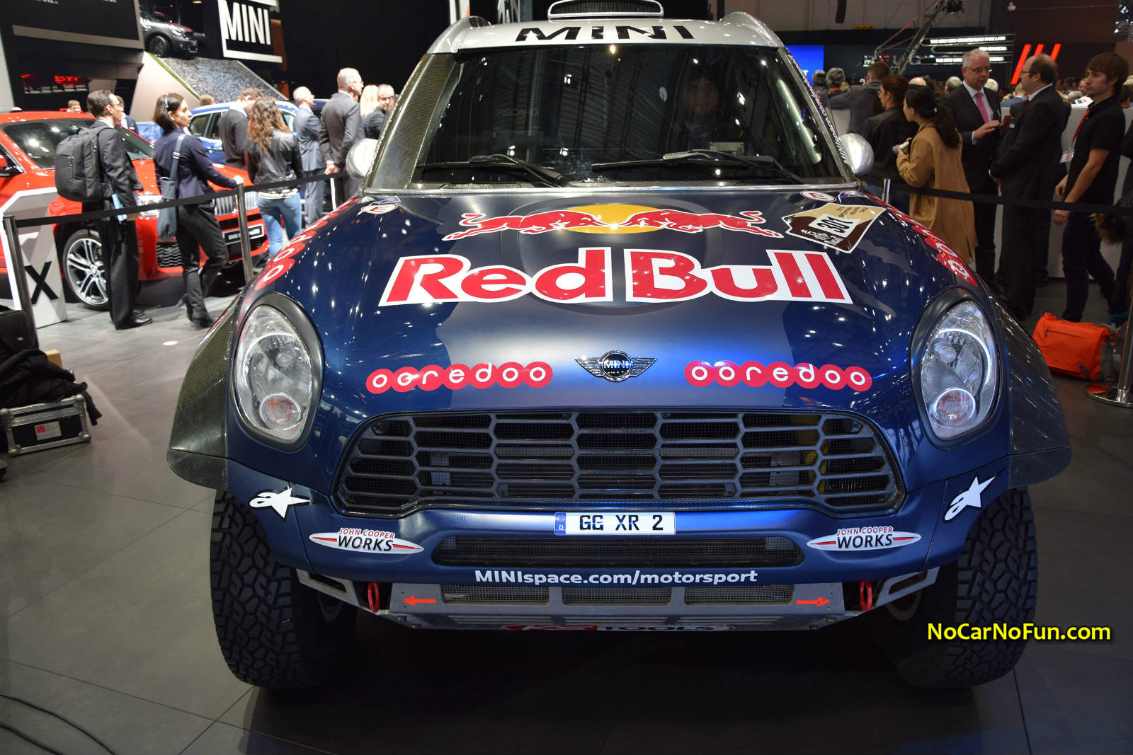 2015-MINI-Rally-Car-Dakar-Rally-05-2015-Geneva-Motor-Show - front ...