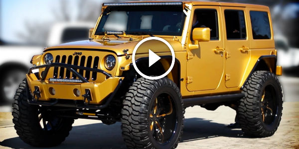 Real EYE-OPENING TREASURE On Wheels! This CUSTOM 2012 Jeep Wrangler Is WORTH SOLID GOLD!