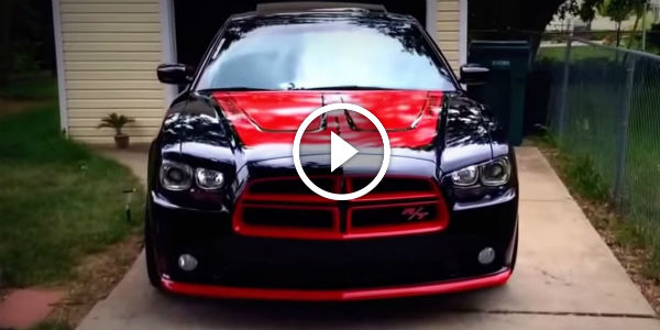 Notorious Joes Custom Black N Red Dodge Charger Rt On S Walk Around