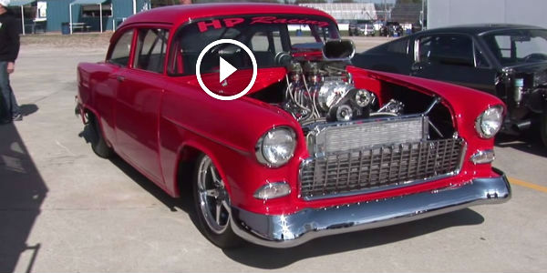 Mercedes Benz Okc >> 60-YEAR-OLD And Still RUNS LIKE HELL! Blown 1955 Chevy ...