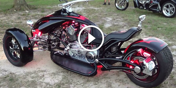 Mean And Poisonous Custom Three Wheeler Scorpion Rt At