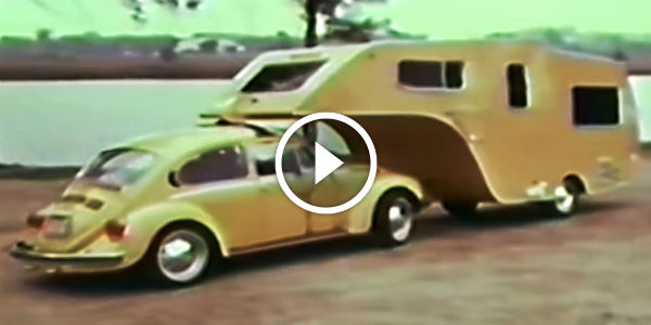 One Of A Kind Volkswagen Bug Fifth Wheel Trailer Soon To