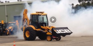 BLOWN BIG BLOCK JCB BACKHOE SYDNEY AUSTRALIA