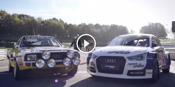 Watch This AWESOME RACE!!! HEAD TO HEAD – 2014 Audi S1 EKS RX Meets Original 1985 Ur-Quattro!!!