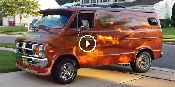 2015 Dodge Magnum >> 500+HP Under The Hood Of This Customized 1973 Dodge Van! AMAZING POWERHOUSE! - NO Car NO Fun ...