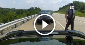 Lexus LFA Clears It's Throat And Gets BUSTED