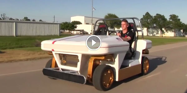 PERFECT FOR DRIFT? NASA Brings Its New Fully Electric Modular Robotic Vehicle Which Will Ride On Other Planets!