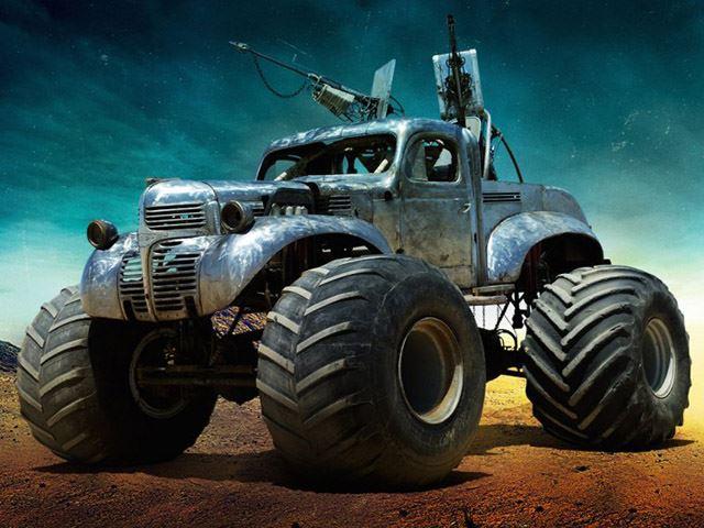 Mad Max Fury Road Custom Monster Truck No Car No Fun