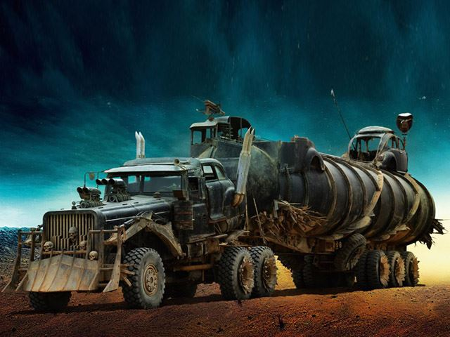 Truck Max Miami >> mad max fury road custom tank truck - NO Car NO Fun ...
